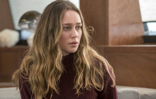 Picture actress, curls, Fear the walking dead, Fear the Walking Dead, Alycia Debnam-Carey