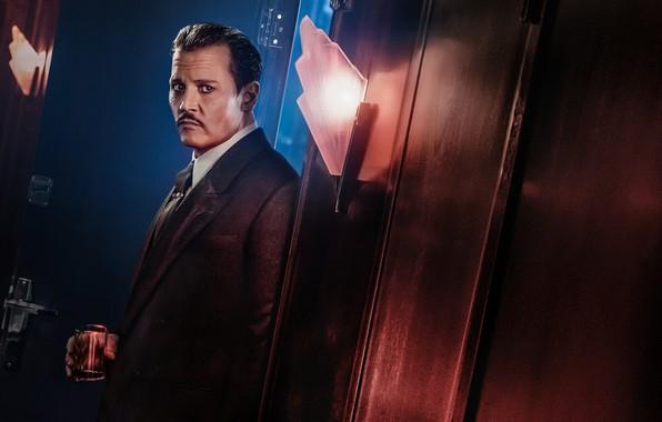 Picture Johnny Depp, Johnny Depp, detective, Murder on the Orient Express, Murder on the Orient Express