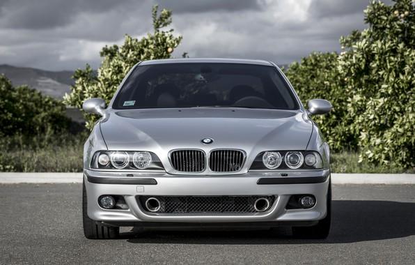 Picture BMW, Classic, Legend, E39, Silver