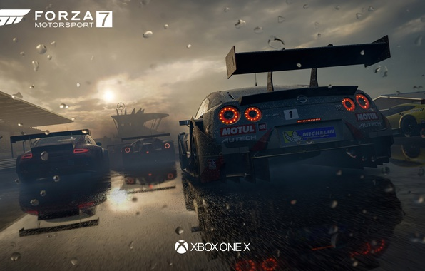Picture car, race, speed, Forza Motorsport, Forza Motorsport 7, XBox One X