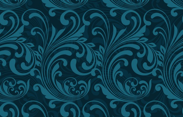 Picture Blue, Abstract, design, pattern, Wallpaper, pattern-1