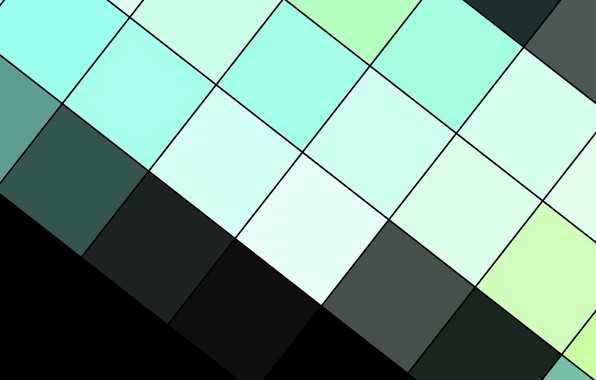Picture line, abstraction, black, squares, geometry, design, modern, material, electrician, aquamarine, fhd-wallpaper-1920x1200