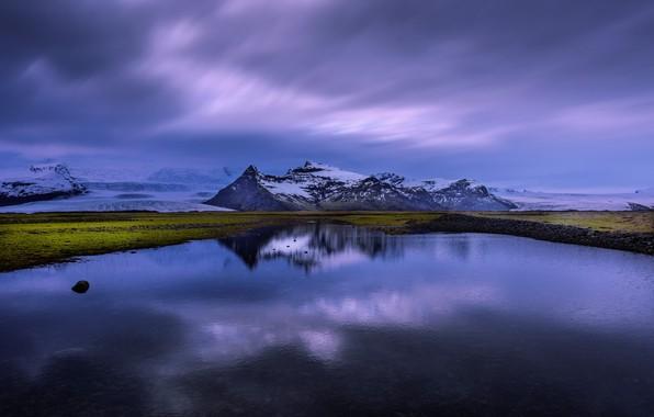 Picture lake, reflection, Iceland, Iceland
