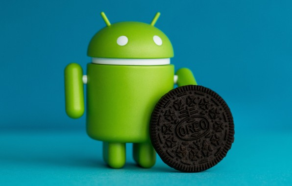 Wallpaper Mecha, Android 8, Oreo, Android, Hi-tech