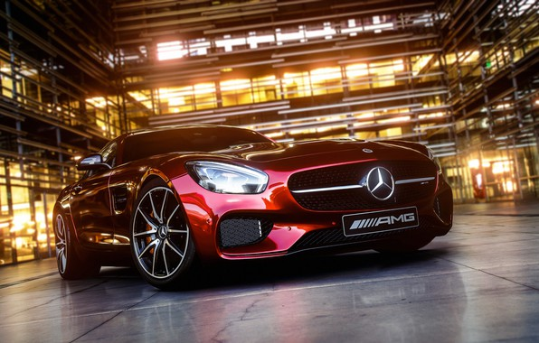 Picture lights, AMG, coupe, Mersedes-Benz, tires