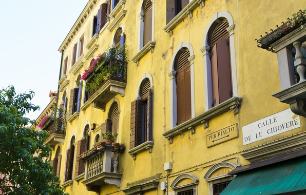 Picture Italy, Venice, The building, Italy, Venice, Italia, Building, Venice