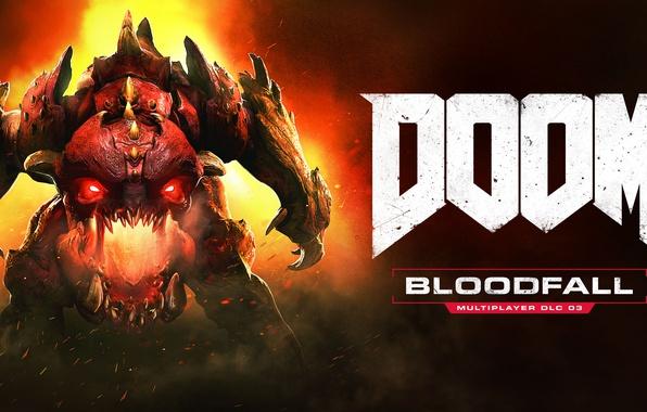 Picture Game, Doom, 2016, Horizontal, Bloodfall