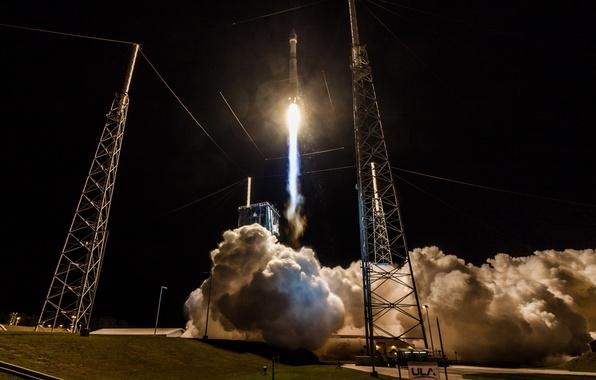 Picture rocket, start, Atlas V