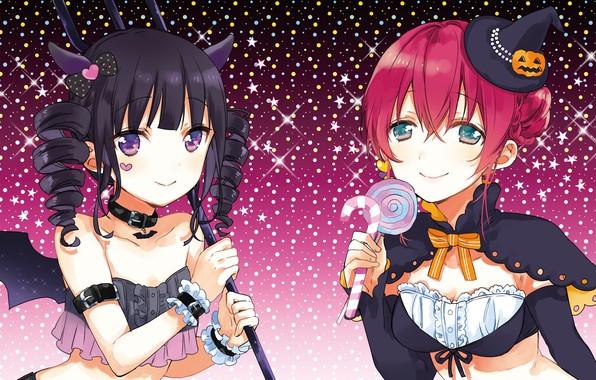 Picture girls, halloween, costumes, Halloween, blend s, Miyuki nakayama, amano miu, sakuranomiya maika