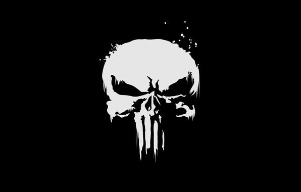 Picture cinema, sake, logo, Marvel, movie, assassin, film, The Punisher, tv series, Netflix, O Justiceiro, Marvel …