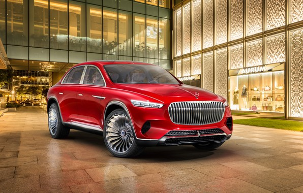 Picture Mercedes-Benz, Vision, Maybach, 2018, Mercedes-Maybach, electrocreaser, Ultimate Luxury