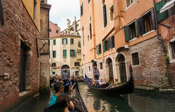 Picture the, water, grand, taxi, italy, boat, venice, canal, The Grand Canal, attractions
