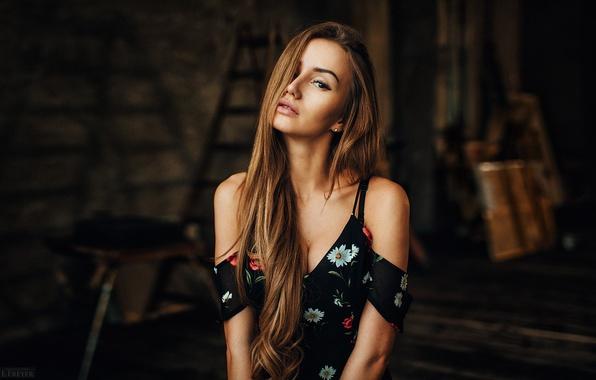 Picture look, girl, Valya, Valia, Evgeny Freyer, fotograf