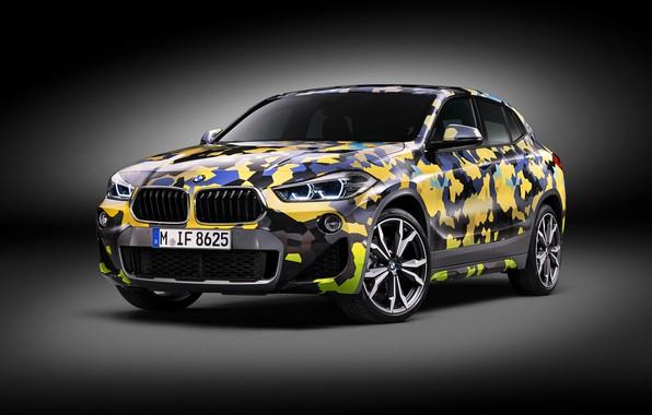 Picture BMW, 2018, BMW X2, 2018 BMW X2 Digital Camo Concept