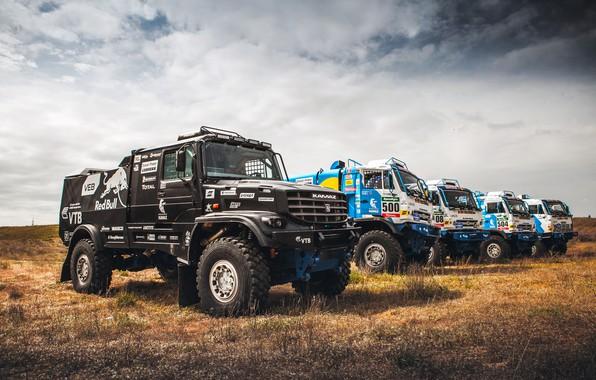 Picture Sport, Truck, Master, Beauty, Russia, A lot, Kamaz, Rally, Dakar, Dakar, Rally, KAMAZ, Best, RedBull, …