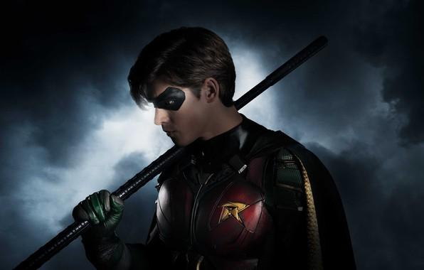 Picture Action, Fantasy, Superheroes, Dawn, year, 2018, Robin, Boy, Comics, Beast, DC Comics, TV Series, Movie, …