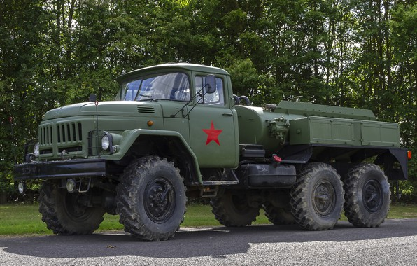 Picture truck, ZIL, military truck