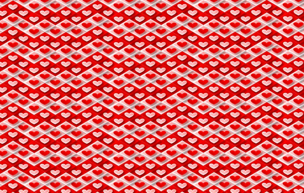 Picture holiday, art, hearts, Valentine, Valentine's Day