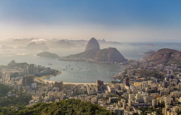 Picture morning, Brazil, Rio de Janeiro, Rio de Janeiro