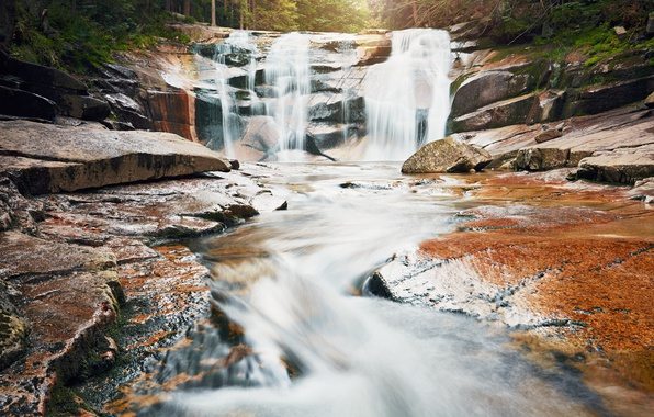 Picture Nature, Waterfall, River