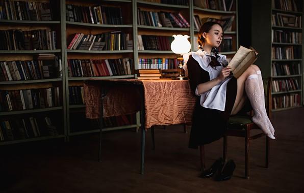 Picture book, form, schoolgirl, legs, lessons, Andrey Frolov, Valeria Novikova