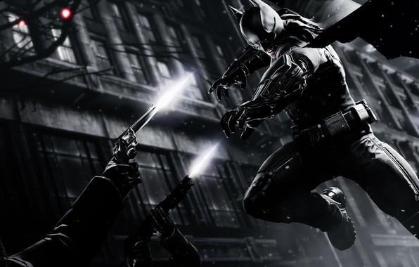 Picture The game, Batman, Costume, Fight, Belt, Weapons, Hero, Shooting, Mask, Cloak, Superhero, Hero, Batman, Game, …