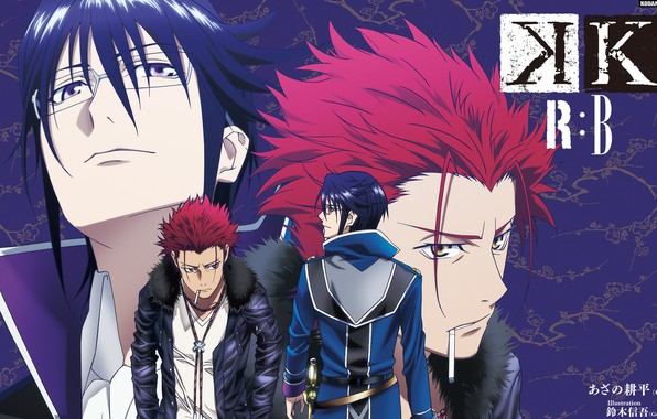 Photo Wallpaper K Project Munakata Thigh Suoh Mikoto