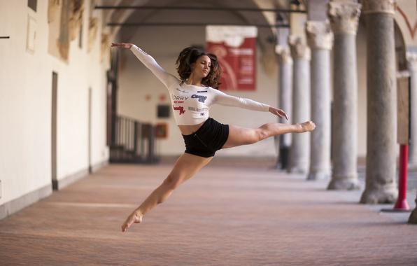 Picture girl, mood, dance, Alexandrina Calancea