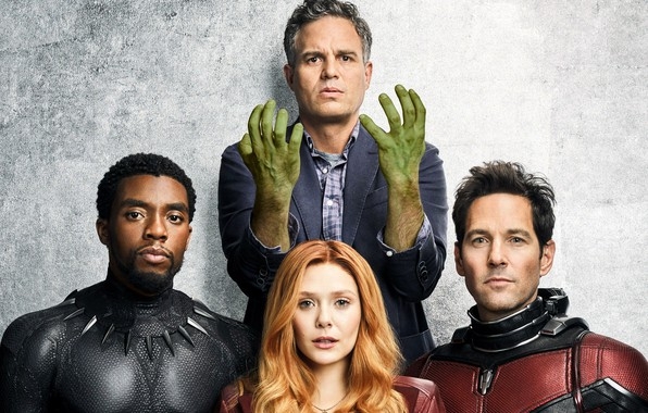 Picture background, the film, characters, Hulk, 2018, Avengers: Infinity War