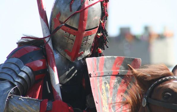 Picture armor, helmet, knight