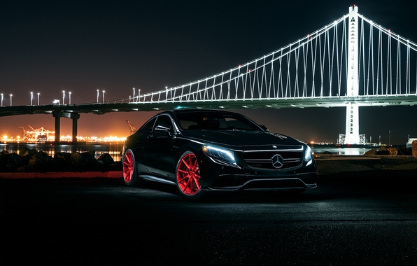 Photo wallpaper S63, Wheels, Front, Garde, AMG, Before, Coupe, Mercedes-Benz