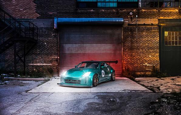 Picture Nissan, 350Z, front, 2003, carbon composites