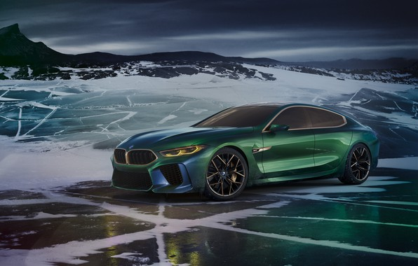 Photo wallpaper Concept, BMW, the concept, Gran Coupe, VMB