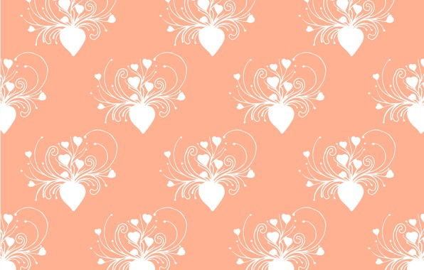 Picture background, texture, hearts, background, pattern