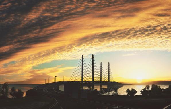 Picture Bridge, Euro, Truck, Simulator 2