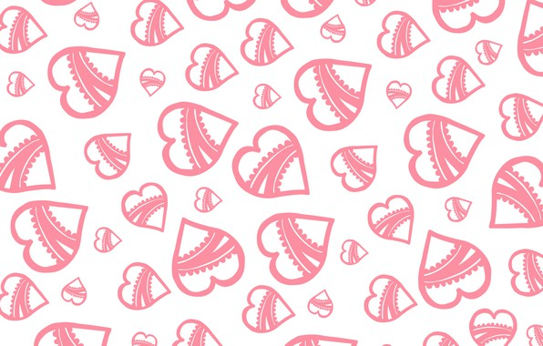 Picture background, Wallpaper, texture, hearts