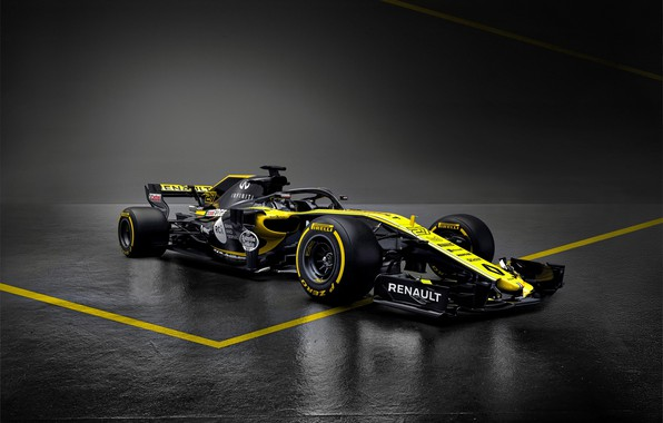 Picture Renault, formula 1, the car, Formula 1, Reno, 2018, R.S.18
