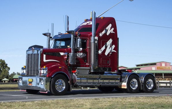 Picture Kenworth, Trac, HFS, T909