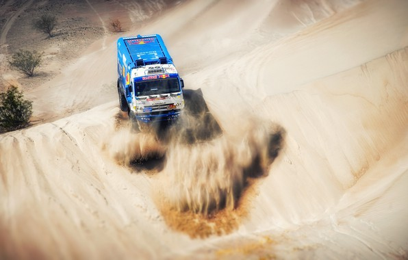 Picture Sand, Sport, Truck, Race, Master, Russia, 500, Kamaz, Rally, Dakar, KAMAZ-master, Dakar, Rally, KAMAZ, The …