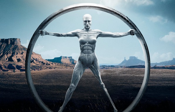 Picture mountains, Android, muscle, hbo, westworld