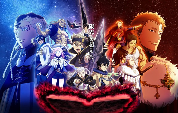 Picture anime, art, characters, Black Clover