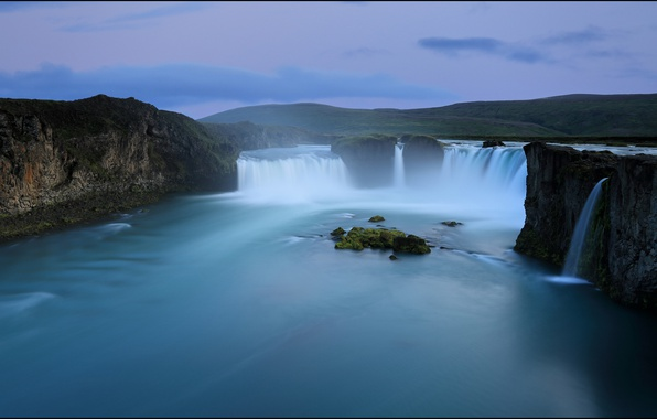 wallpaper godafoss iceland free - photo #11