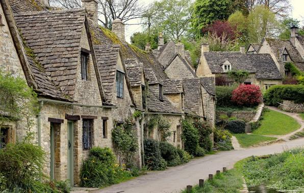 Picture England, Home, Village, Bibury, Bibury
