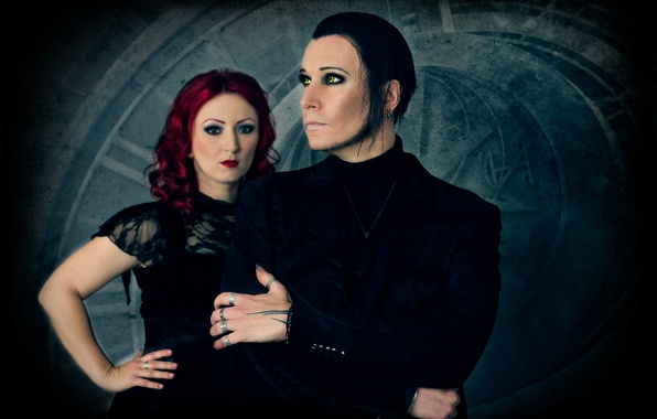 Picture music, Gothic, group, darkwave, Ulrike Goldmann, Chris Pohl, BlutEngel, Ulrike Goldmann, Chris Paul
