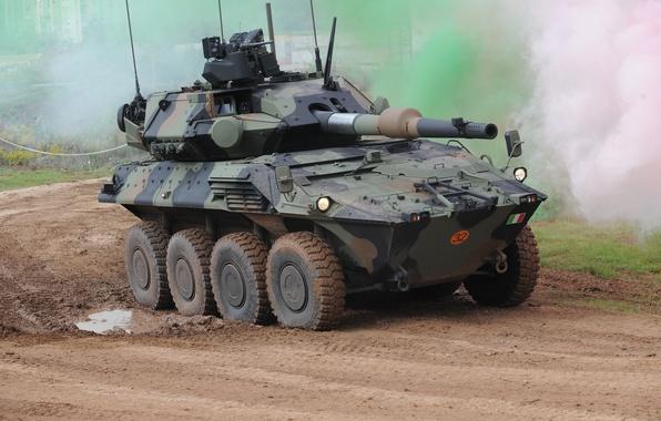 Picture machine, Armored, Centauro II