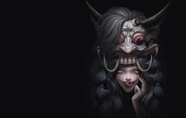 Picture fantasy, art, Illustrator, Mix demon, Asep Ariyanto