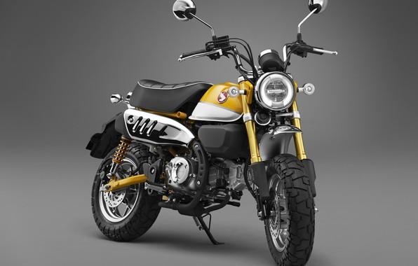 Picture Honda, Yellow, 2018, Monkey, 125