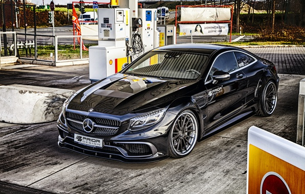 Picture coupe, Mercedes-Benz, Mercedes, Coupe, Prior-Design, S-Class, C217
