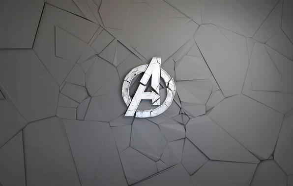 Picture fragments, background, graphics, logo, Logo, comic, MARVEL, The Avengers, The Avengers, Avengers