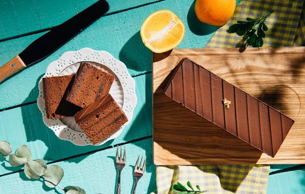 Picture lemon, the sweetness, cake, citrus, cakes